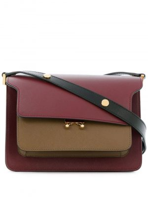 Marni two-tone Trunk shoulder bag
