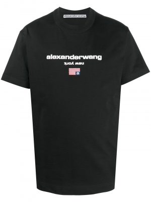 Alexander Wang logo graphic T-shirt