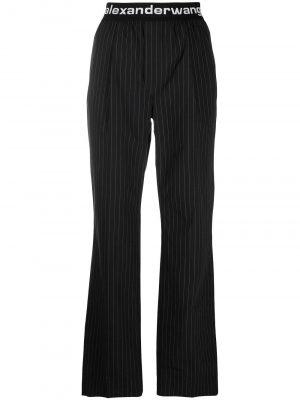 Alexander Wang logo waistband trousers