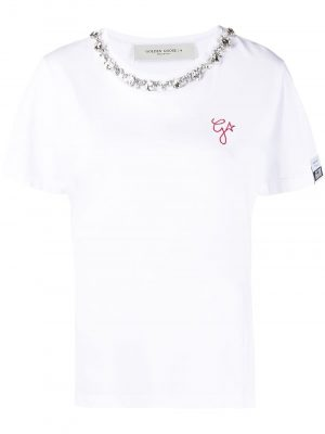 Golden Goose crystal embellished T-shirt