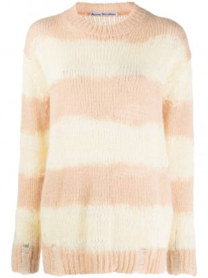 Acne Studios distressed striped jumper