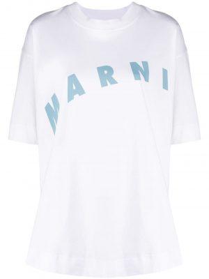 Marni logo-print T-shirt