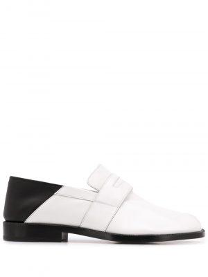 Maison Margiela polished Tabi loafers