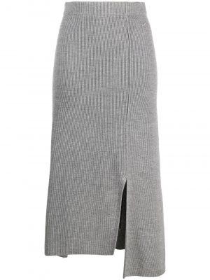 Kenzo asymmetric knitted skirt