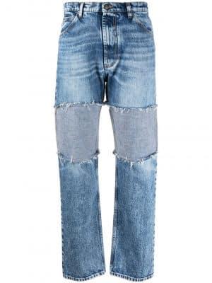 Maison Margiela mid-rise distressed jeans