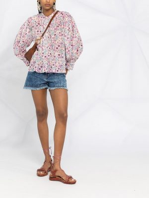 Isabel Marant Etoile floral-print blouse