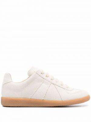Maison Margiela 21SS S58WS0109 PR190 T8041 Replica Fabric sneakers Cream