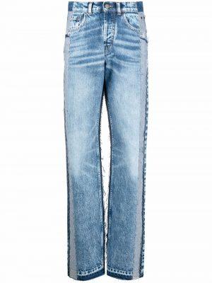 Maison Margiela panelled high-rise jeans