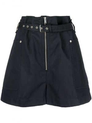 Isabel Marant Etoile paperbag-waist shorts