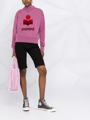 Isabel Marant Etoile Moby logo-print sweatshirt