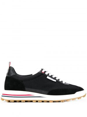 Thom Browne MFD180C06973001 Tech runner rubber sole Black