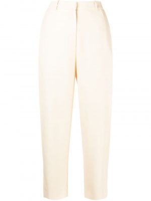 Toteme tapered-leg cropped trousers