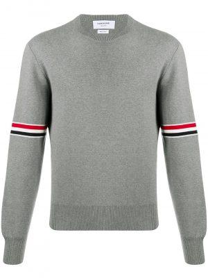 Thom Browne stripe armband jumper