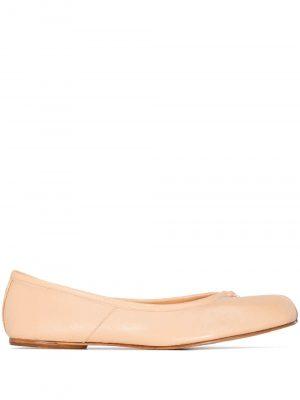 Maison Margiela 21SS S58WZ0042P3753T2052 Ballet shoe Light beige