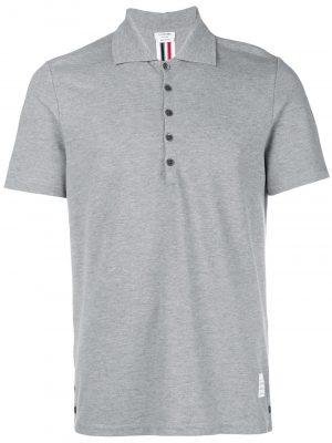 Thom Browne center-back stripe polo shirt