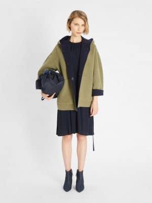 Maxmara Weekend JOLLY reversible wool coat