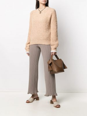 Acne Studios stretch-fit ribbed trousers
