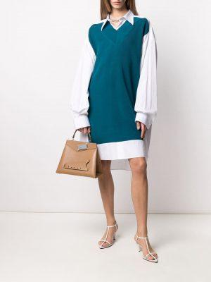 Maison Margiela multi-panel shirt dress