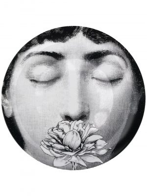 Fornasetti illustrated plate