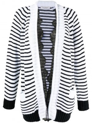 Philosophy striped knit cardigan