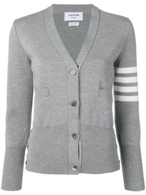 Thom Browne 4-Bar knitted cardigan