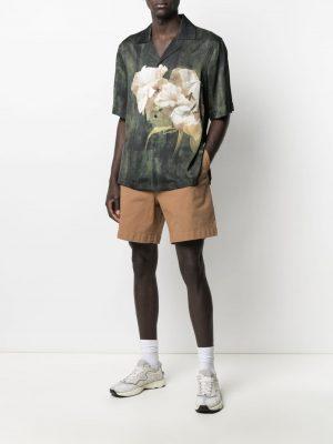 Acne Studio floral-print shirt