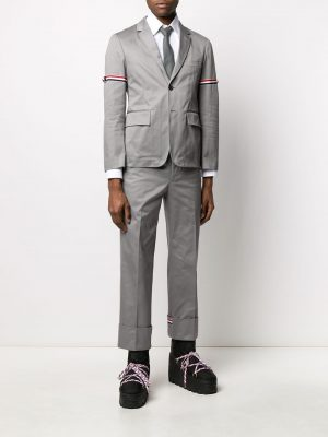 Thom Browne unconstructed armband blazer