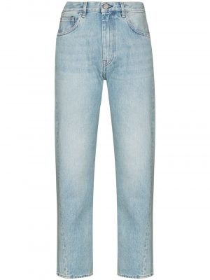 Toteme twisted-seam cropped jeans