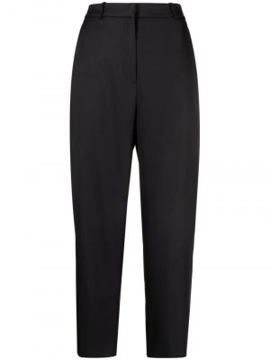 Toteme 21SS 212252714200 Twisted seam trousers Black