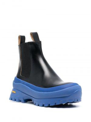 Jil Sander galosh sole boots