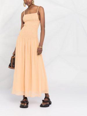 Toteme spaghetti-strap smock dress