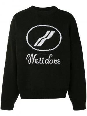 We11Done logo sweater