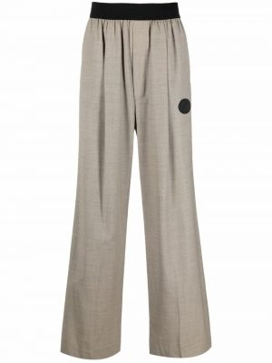 We11Done logo wappen trousers