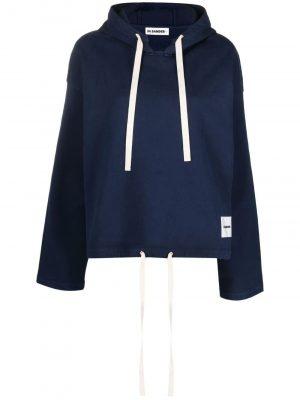 Jil Sander drawstring hoodie
