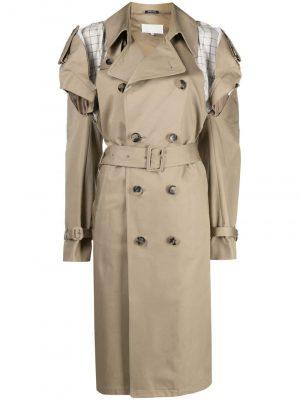 Maison Margiela deconstructed cut-out trench coat