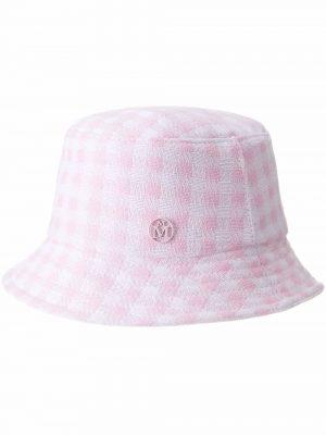 Maison Michel Jason check-print bucket hat