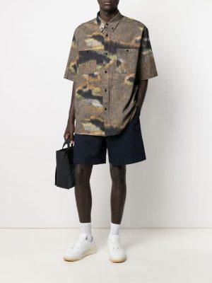 Acne Studios elasticated-waist chino shorts