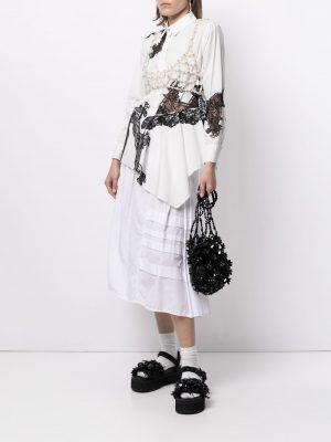 Simone Rocha sequin-embellished bucket bag