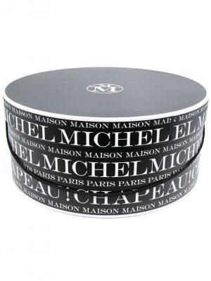 Maison Michel logo round box