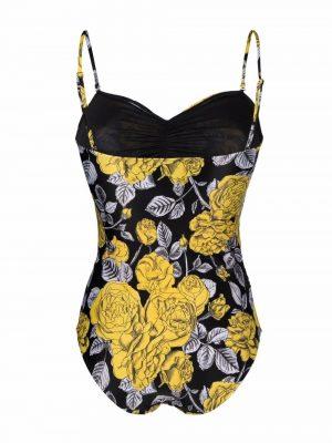 Ganni floral swimsuit