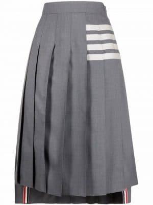 Thom Browne pleated kilt skirt