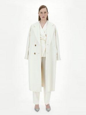 Maxmara MADAME 101801 Icon coat white