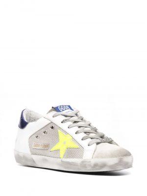 Golden Goose Superstar logo lace sneakers