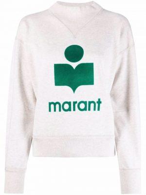 Isabel Marant Etoile logo crew-neck sweatshirt