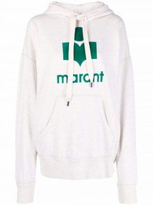 Isabel Marant Etoile logo-print pullover hoodie