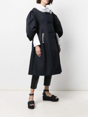 Simone Rocha embellished scoop neckdress