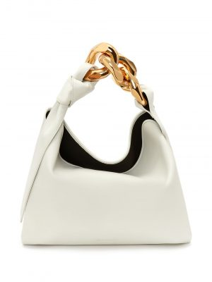 JW Anderson small chain-link tote bag