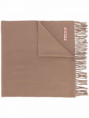 Acne studios Canada Nr New fringed wool scarf