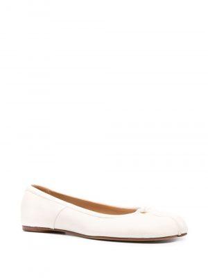 Maison Margiela Tabi leather ballet shoes