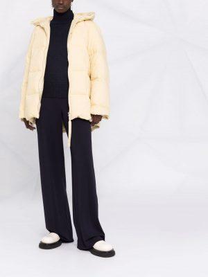 Jil Sander padded zippedcoat